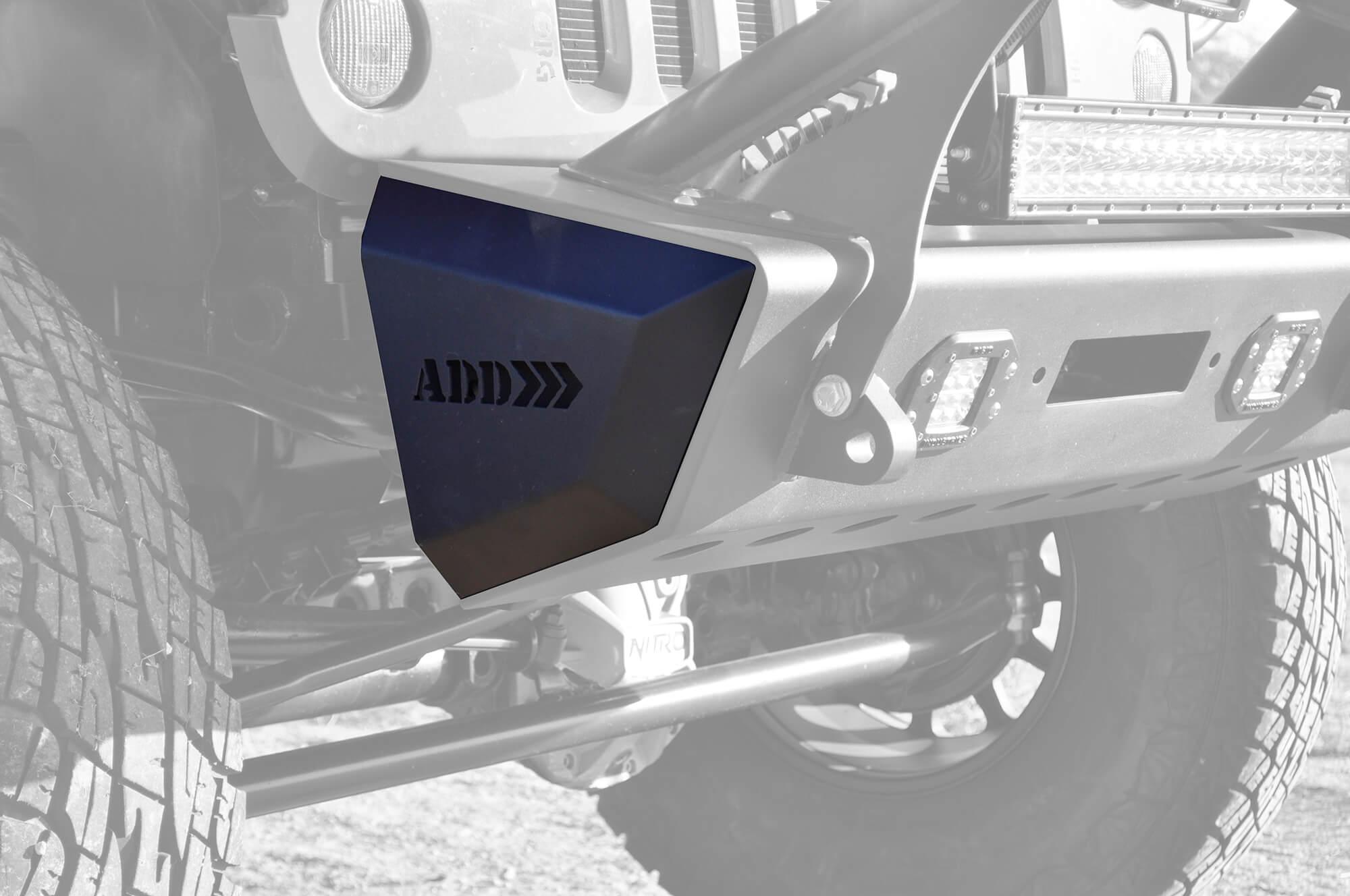 Addictive Desert Designs F95128NA01NA Stealth Fighter Rock Caps