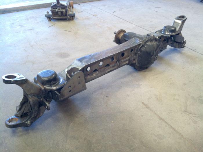 Artec Industries JK3002 - JK Front Axle Truss For Rock Krawler 3 Link Systems Dana 30 Artec Industries