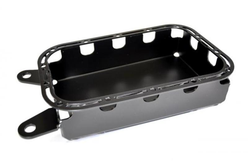 EVO Manufacturing EVO-1091B - EVO 2012+ Pentastar Oil Pan Skid, Black Powdercoat, JK - 2012-2018 Jeep Wrangler JK/JKU