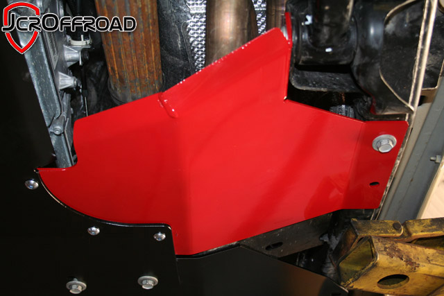 JCR Offroad JKSD-XT-PC - JK Exhuast Loop Skid 07-18 Powder Coat