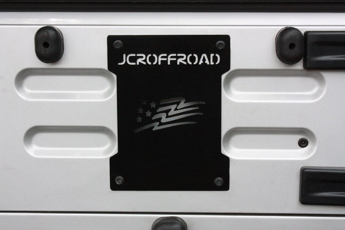 JCR Offroad TJDDT-BARE - TJ/LJ Aluminum Drop Down Tailgate 97-06 Jeep TJ Bare