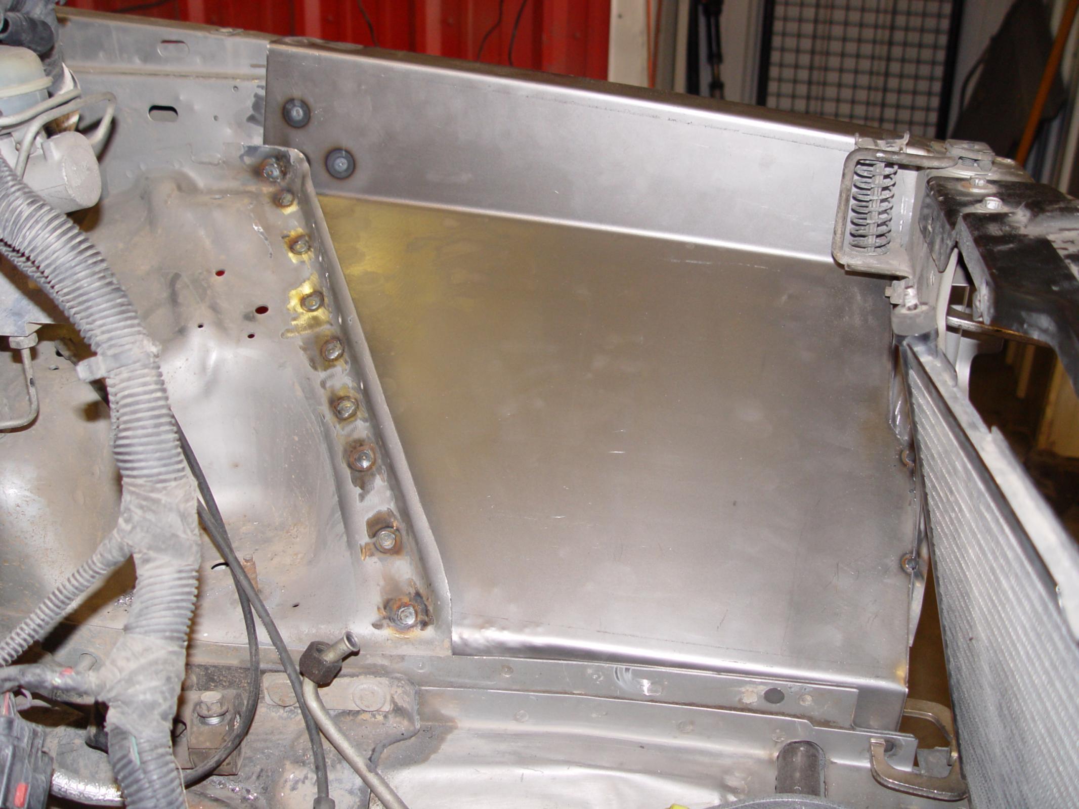 TNT Customs XIFP - Inner Fender Replacement Panels 84-01 Jeep Cherokee XJ