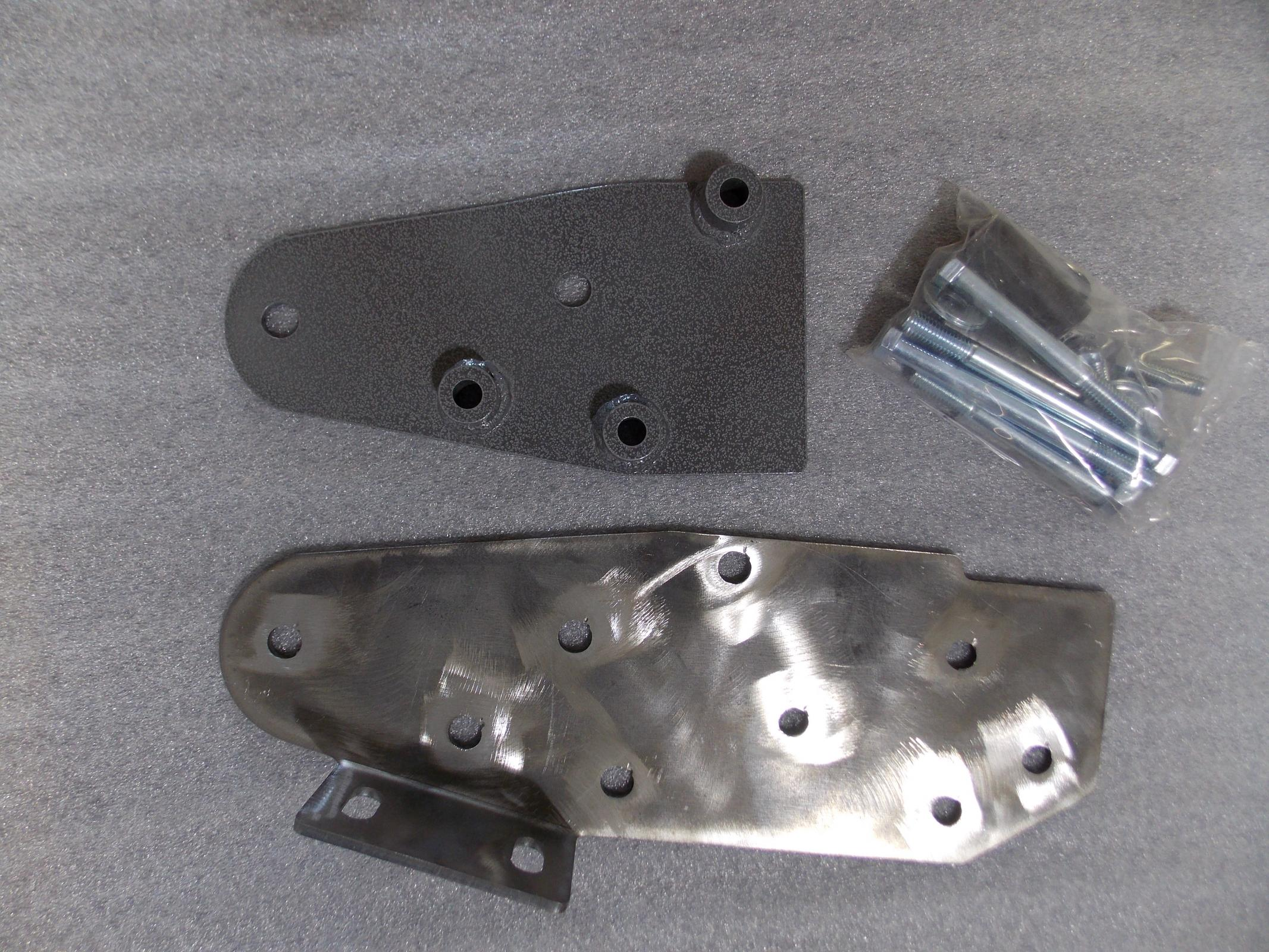 TNT Customs XSR - XJ Steering Reinforcement Plates Inner And Outer 84-01 Cherokee XJ