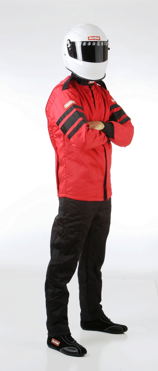 Driving Jacket; Multi-Layer; Red; Large; SFI 3.2A/5