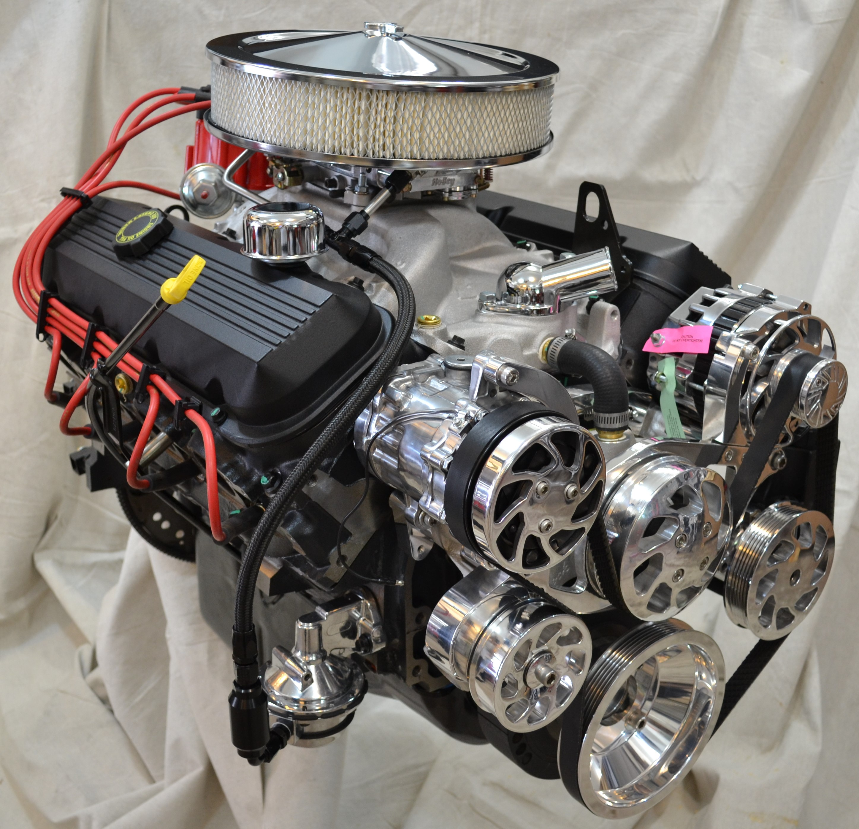 Dyno Tested 454HO 438HP 500TQ Deluxe Crate Engine 454438C