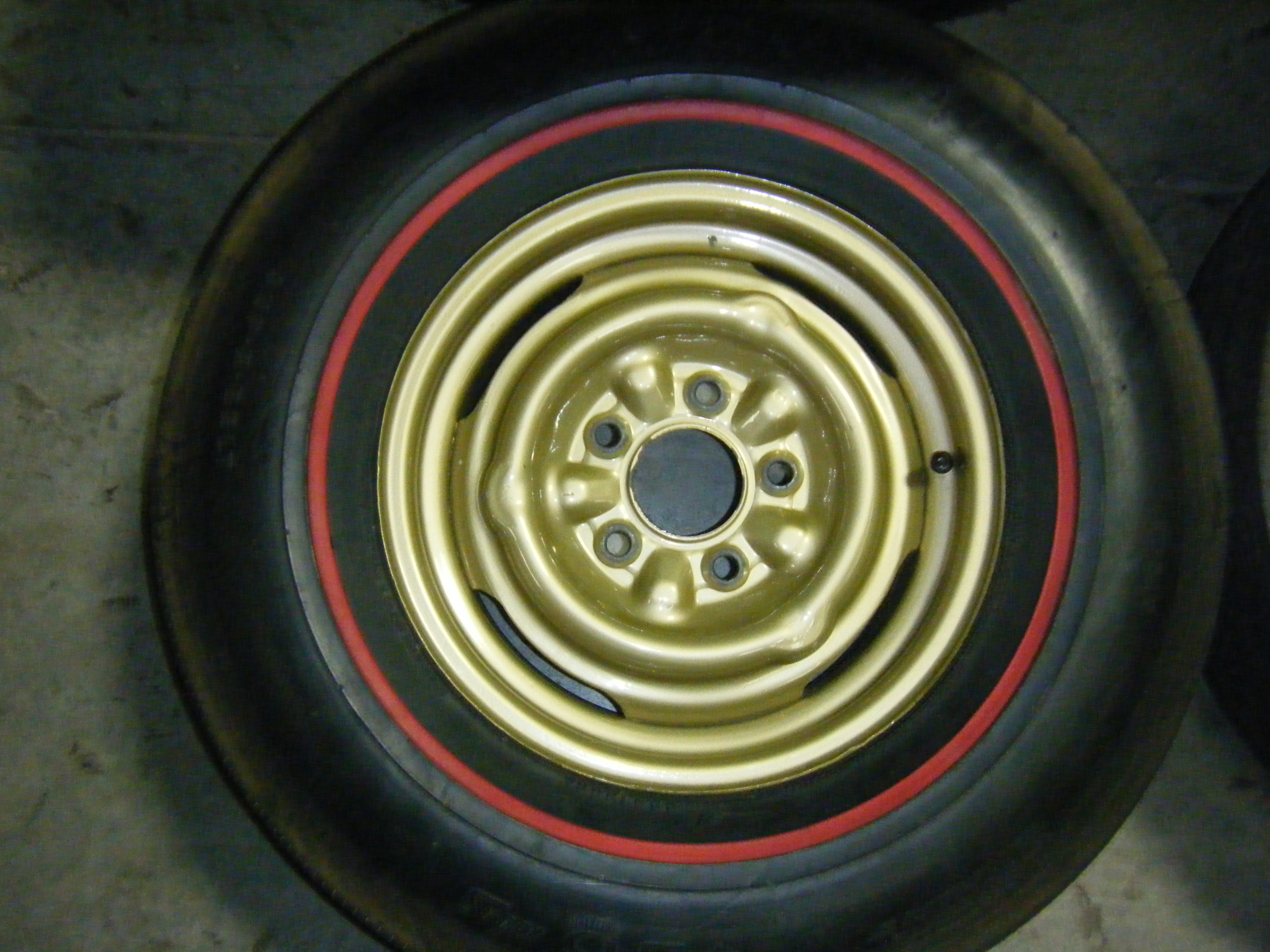 ORIGINAL 1965 Chevy Chevelle Rims and Tires