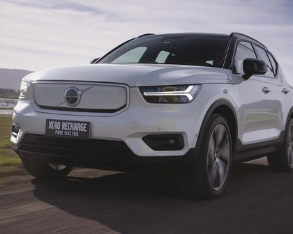 XC40 Recharge estreia com missão de levar Volvo à liderança dos elétricos