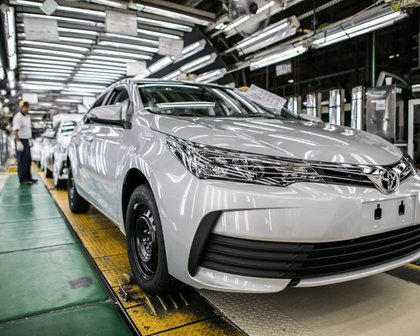 Toyota vai parar produção em Indaiatuba por dez dias
