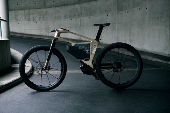 Bicicleta ou moto? i Vision Amby, da BMW, chega a 60 km/h