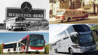 Mercedes-Benz escreve história do transporte de passageiros no Brasil