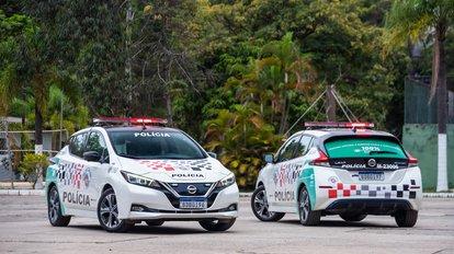 Nissan Leaf vai integrar frota da PM de São Paulo