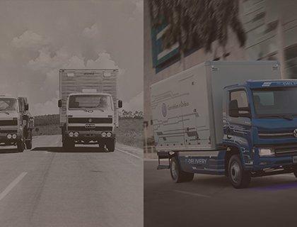Caminhões e ônibus VW: quatro décadas de uma história brasileira