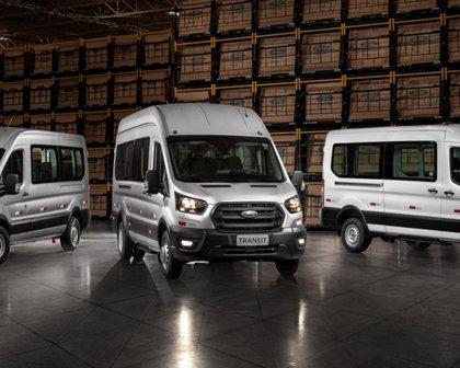 Ford cria divisão de veículos comerciais para vender Transit uruguaia