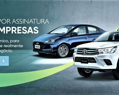 Ouro Verde lança carro por assinatura para pequenas e médias empresas