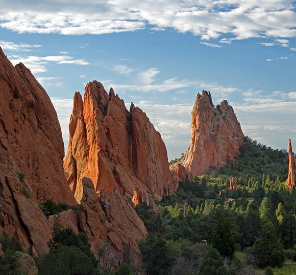 Mountains near Colorado Springs, Colorado