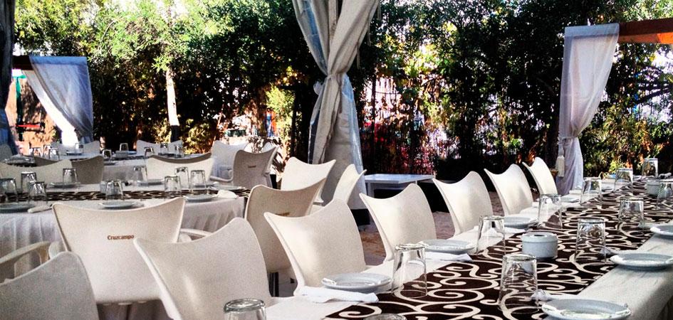 Restaurante La Hacienda comuniones en Madrid
