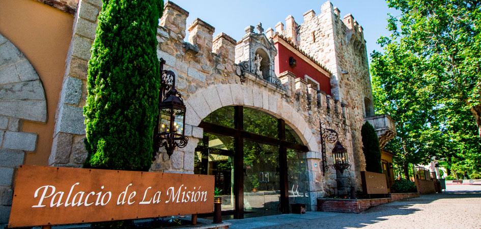 Restaurante Palacio de la Misión comuniones en Madrid