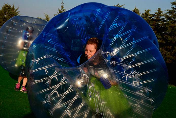 Actividades bubble soccer Madrid