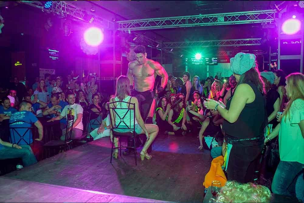 Despedidas eróticas en Madrid