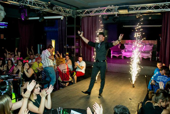 Despedidas de soltera con espectáculo erótico en Madrid