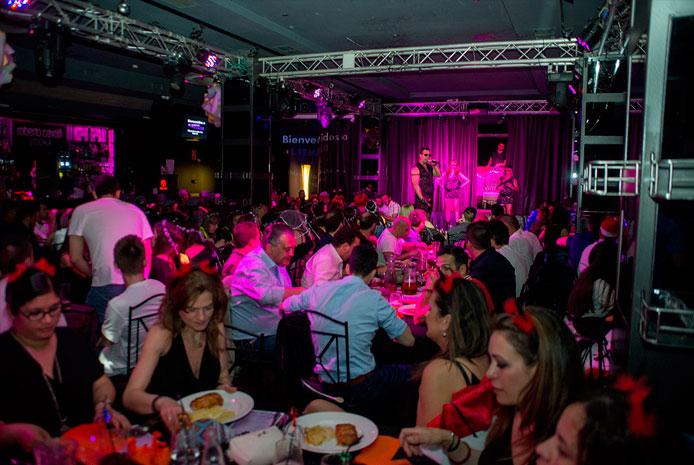 Restaurante erótico para Despedidas mixtas en Madrid