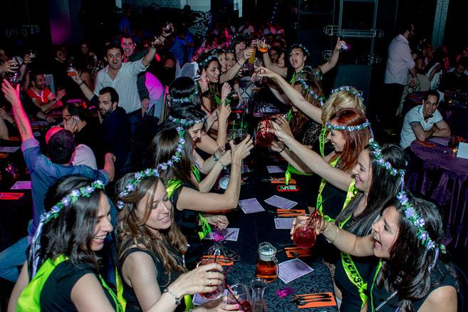 Restaurante erótico para Despedidas de soltera en Madrid