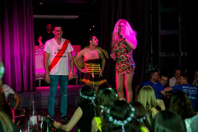 Restaurante erótico con Drag Queens Madrid