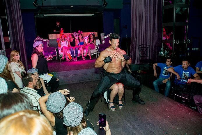 Striptease boy en Madrid