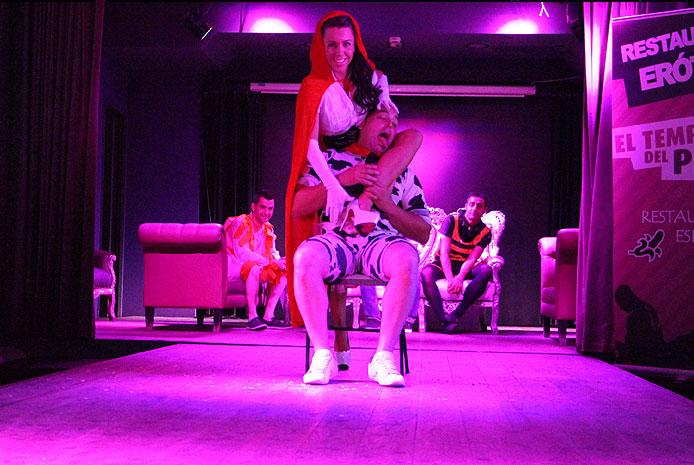 Striptease chica en Madrid