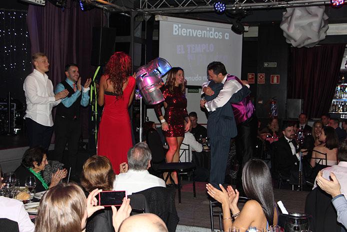 Cena de Nochevieja en restaurante erótico Madrid