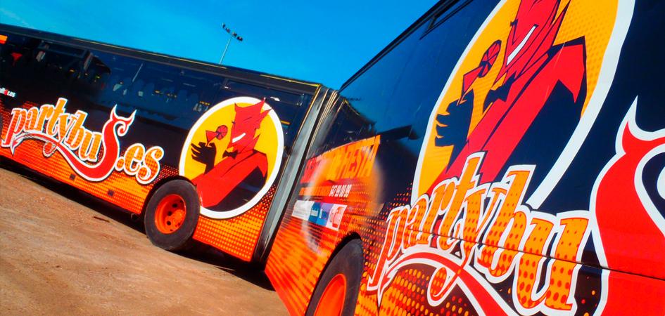 Autobús de fiesta weekend Madrid