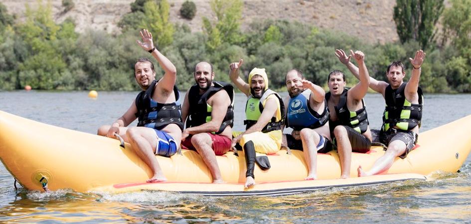 Banana boat actividades multiaventura en Madrid