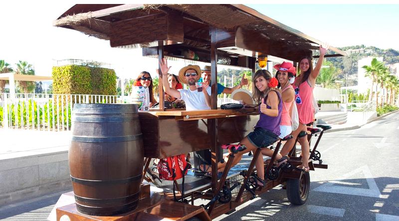 Bici birra Barcelona