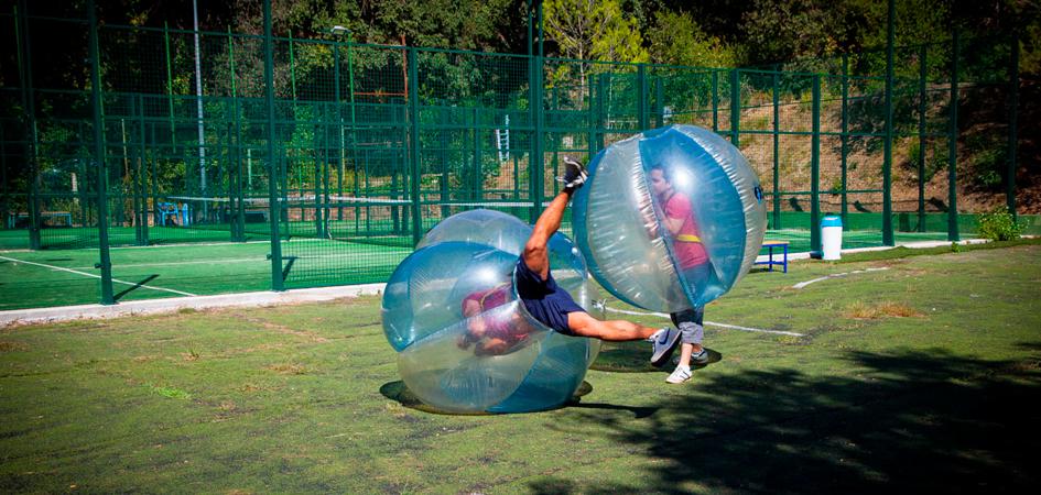 Bubble soccer Barcelona