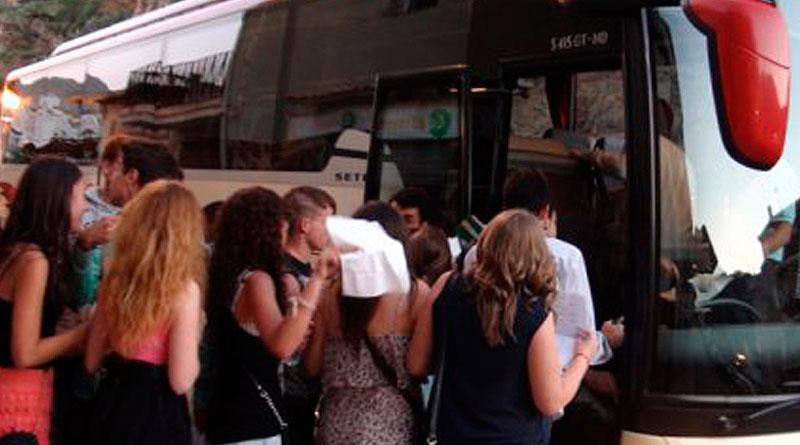 Cuanto cuesta alquilar un autobus en Madrid