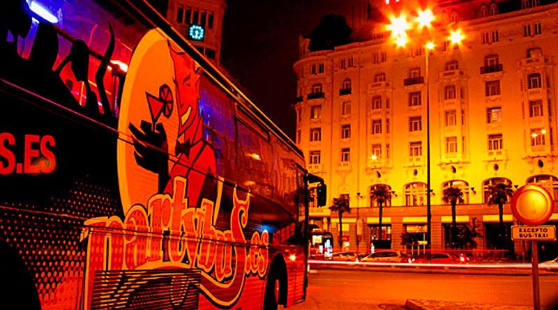 Fiesta en Madrid en Partybus