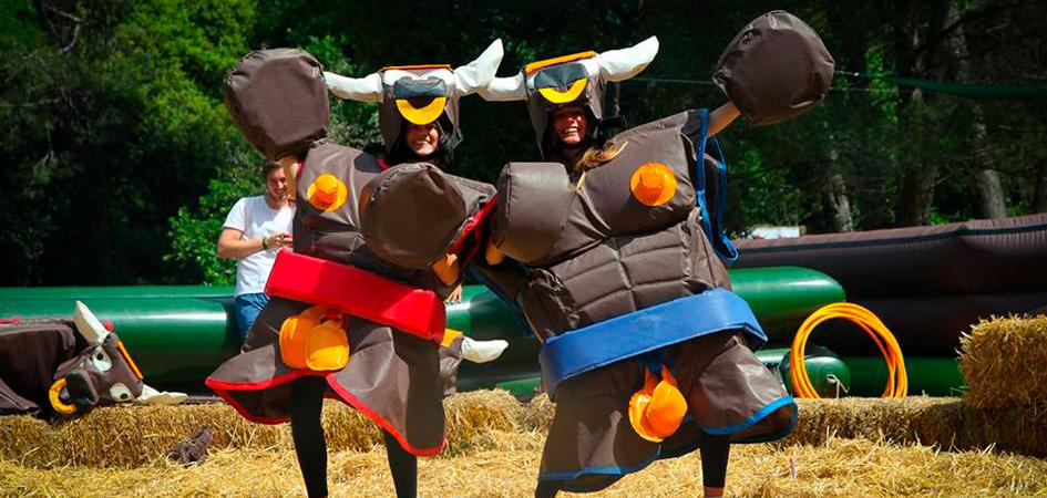 Pelea de toros humoramarillo Moncada