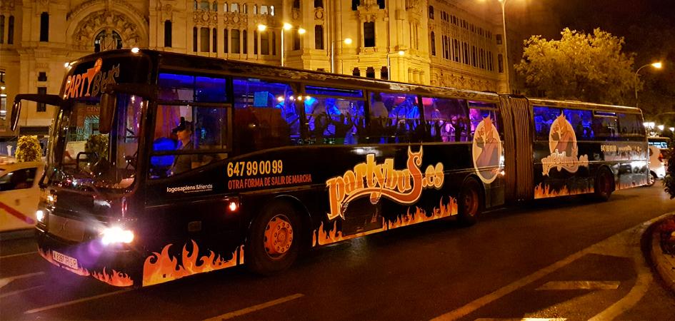 Partybus weekend Madrid
