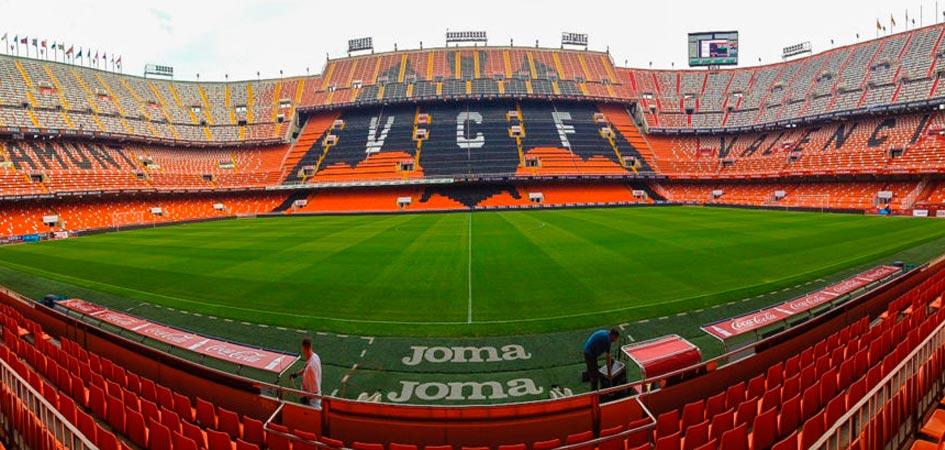 Visita al estadio Mestalla