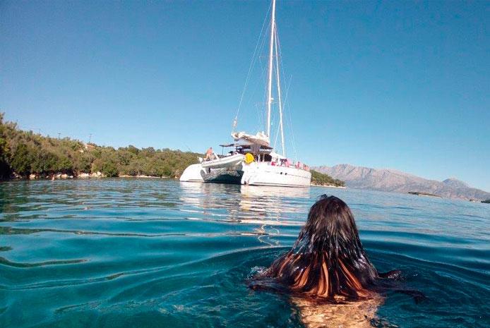 Despedidas catamaran barco Valencia