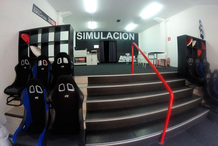 Entrenar en Simulador de Fórmula 1 en Bilbao