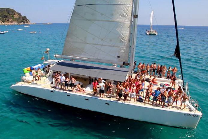 Fiestas en barco Barcelona
