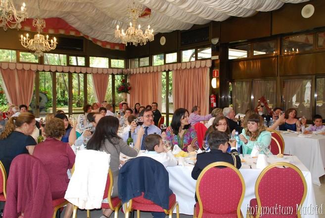restaurante comuniones madrid