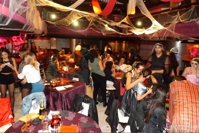 restaurante halloween madrid