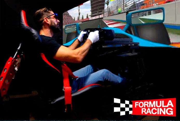 Simulador de Fórmula 1 de Bilbao