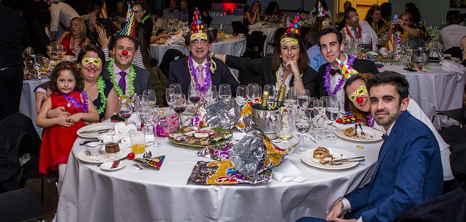 Cena de Nochevieja con niños en Madrid
