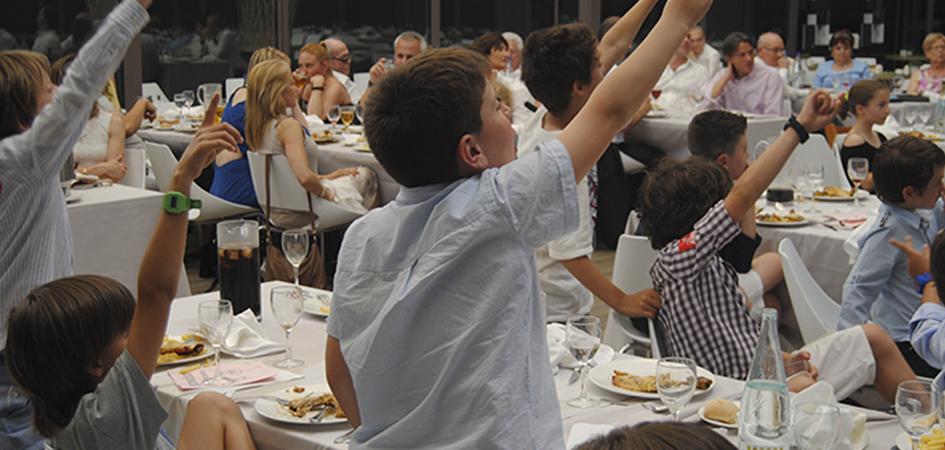 Restaurante para comer con niños Barcelona