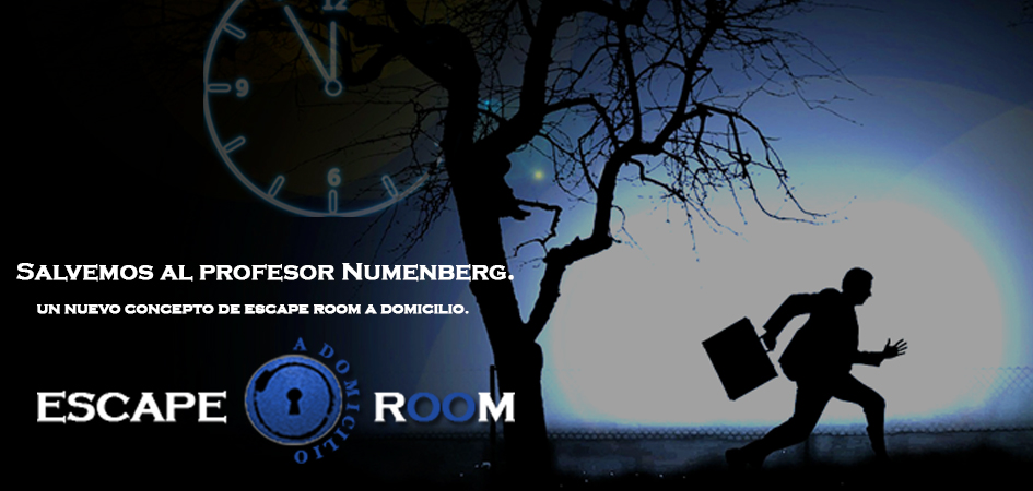 Escape room a domicilio en Madrid.