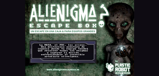Escape room Alienigma Barcelona