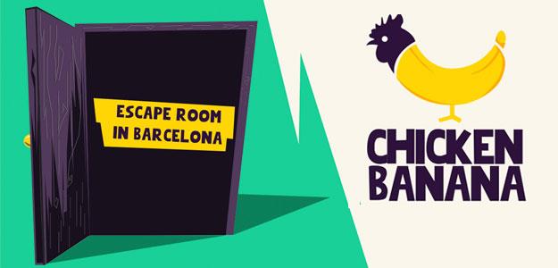 Escape room Chicken banana Barcelona